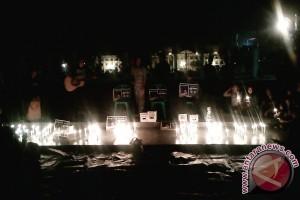 Masyarakat Jambi aksi solidaritas peduli Kendeng