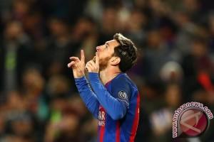 Barcelona tundukkan Real Madrid 3-2, Messi cetak dua gol