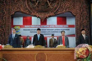 Pansus DPRD sampaikan rekomendasi terkait LKPJ gubernur Jambi 2016