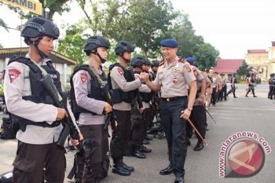 100 Personil Brimob Jambi ditugaskan ke Papua