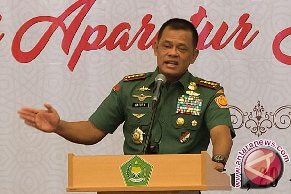 Panglima TNI minta karateka tak kenal takut