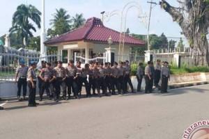 300 Personel Polresta amankan pelantikan tiga bupati