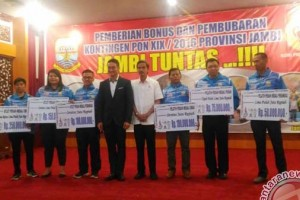Rizky terima bonus PON Rp375 juta