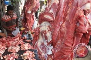 Lebaran 2017 - Harga daging di Jambi stabil