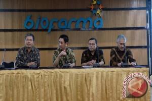 Formasi Direksi PT Bio Farma (Persero) yang baru