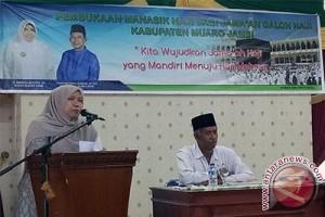 134 calon haji Muaro Jambi ikuti manasik