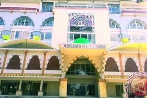 Calon haji Jambi diinapkan di asrama baru