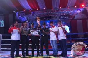 Wahyu sumbang emas Jambi di Kapolri Cup (Video)