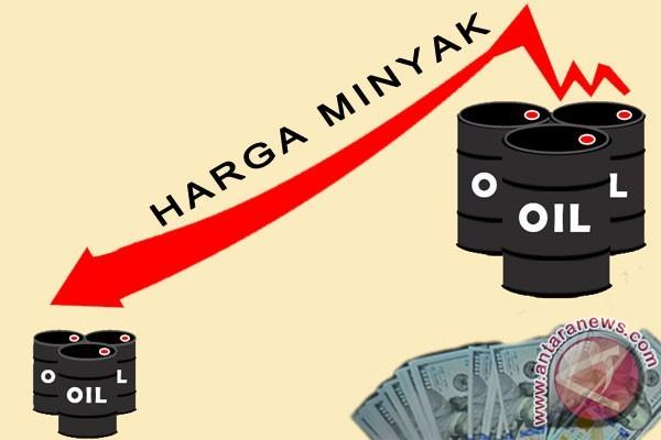 Harga minyak turun karena ketegangan geopolitik berkurang