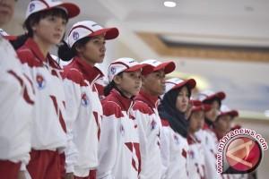 Presiden Jokowi lepas kontingen SEA Games Indonesia