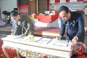 Kenaikan tunjangan anggota DPRD Jambi disahkan