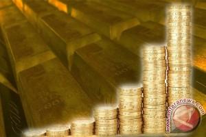 Emas berjangka naik ditopang pelemahan dolar