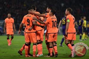 Liverpool  pesta 7-0 ke gawang Maribor