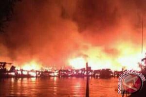 Relawan Kumpulkan Sumbangan Korban  Kebakaran Simbur Naik