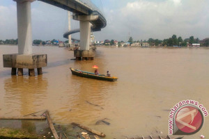 Debit Sungai Batanghari Terus Mengalami Peningkatan