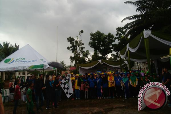 BPJS Ketenagakerjaan Jambi Sosialisasi Program Melalui Jalan Sehat