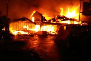 Kebakaran Pasar Sungaipenuh tewaskan pasutri