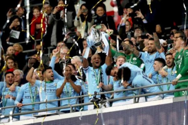 City juara Piala Liga setelah tundukkan Arsenal 3-0