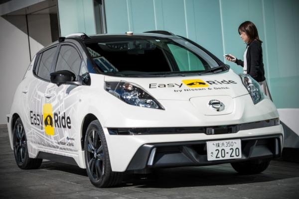 Nissan segera uji coba layanan mobil swakemudi di Jepang