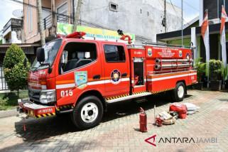 Jambi Timur dapat bantuan mobil pemadam kebakaran