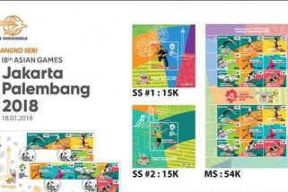 Pos Indonesia Jambi distribusikan perangko Asian Games