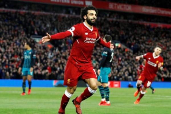 Liverpool gilas Watford 5-0, Salah borong empat gol