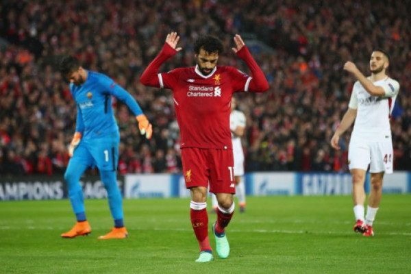 "Liverpool buang keunggulan lima gol dan ""hanya"" menang 5-2 dari Roma"
