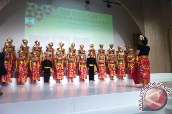 Keren, paduan suara anak Indonesia juara di Slovenia
