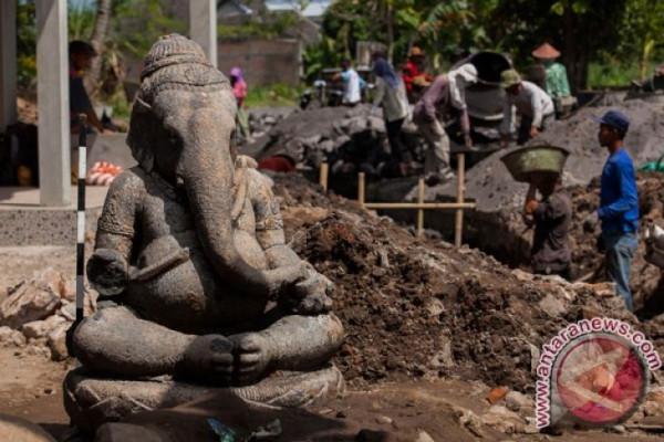 Warga Temanggung temukan kembali patung Ganesha hilang