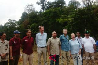Dubes Uni Eropa kunjungi hutan harapan