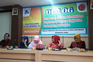 Pusat Gender LPPM Unja gelar dialog perempuan