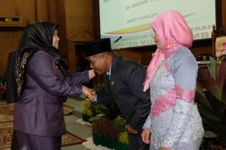 Bupati-Wabup Muarojambi hadiri pelantikan Wakil Ketua DPRD