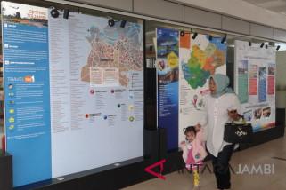 Kalender Wisata Jambi 2018 belum hadir di bandara