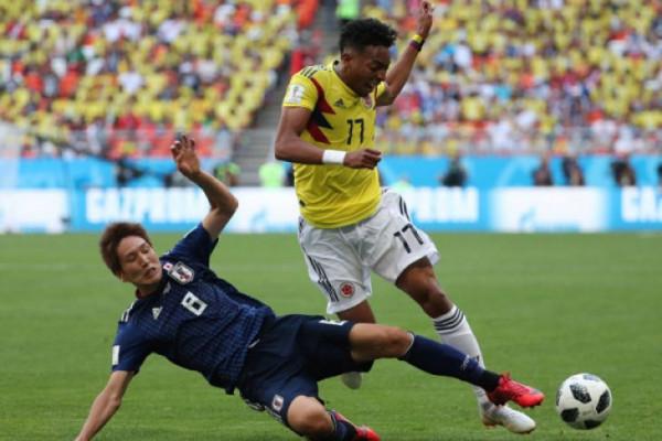 Jepang kalahkan Kolombia 2-1