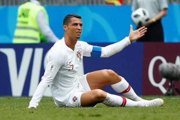 Ronaldo diusir wasit pada penampilan perdana bersama Juve