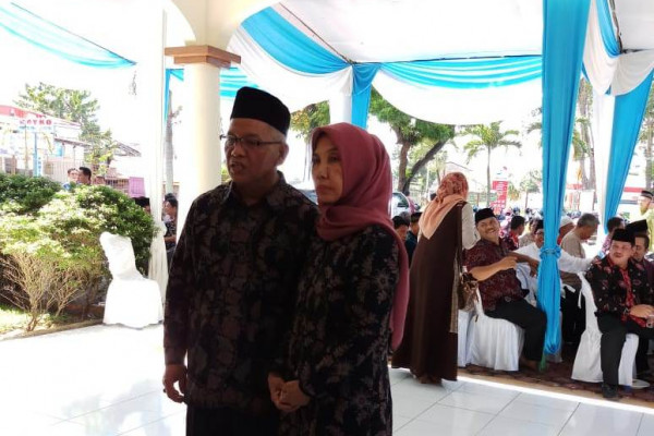 Rektor UIN Jambi gelar halal bihalal
