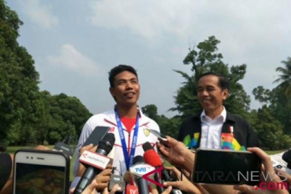 Zohri sambangi Istana Bogor
