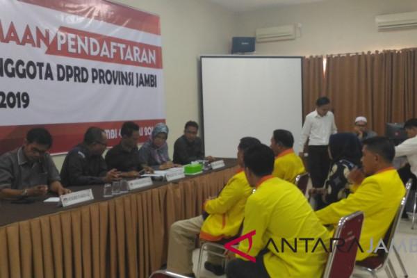 KPU: Bacaleg DPRD Provinsi Jambi 744 orang