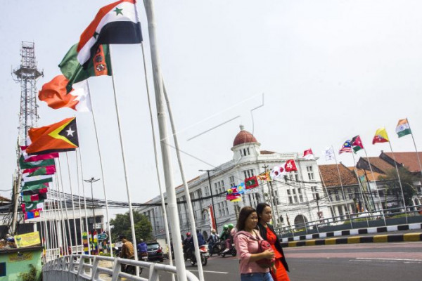 Pengamanan Asian Games berstandar internasional