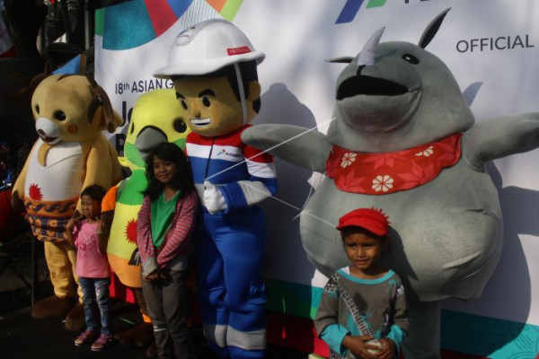 Obor Asian Games diarak ke Bromo