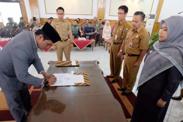 M Fadhil Arief dilantik jadi Sekda Muarojambi