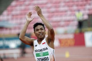 Lalu Muhammad Zohri, dari rumah renta menjadi juara dunia