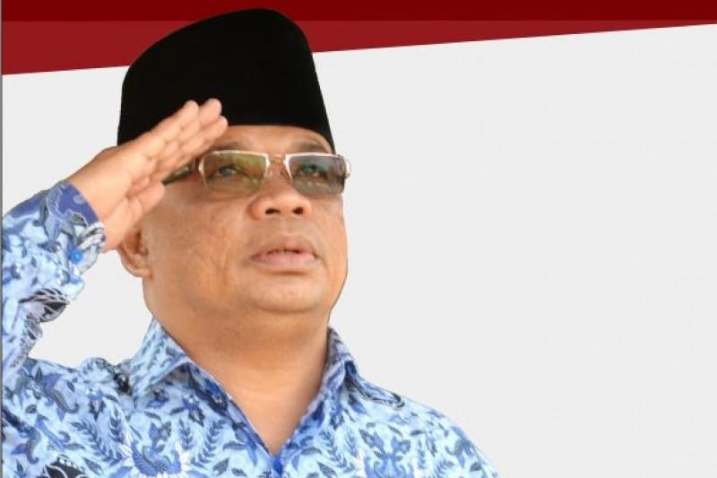 Rektor Unja bacakan amanat Menristekdikti pada HUT Kemerdekaan