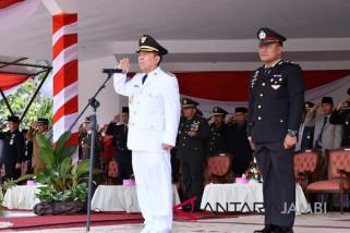Syahirsyah inspektur upacara peringatan HUT ke-73 RI