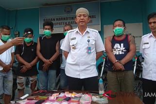 BNNK Batanghari amankan pengedar sabu