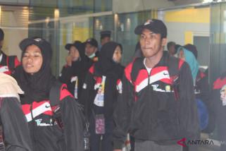 BUMN Hadir- Peserta SMN Maluku Utara tiba di Jambi