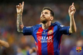 Tendangan bebas spektakuler Messi bantu Barca tundukkan Alaves