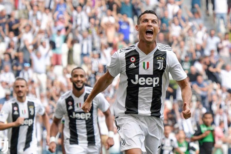 Hasil dan klasemen Liga Italia, Ronaldo cetak gol perdana di Juventus