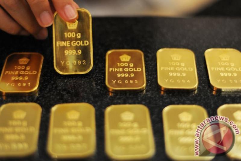 Harga emas naik dipicu pelemahan dolar