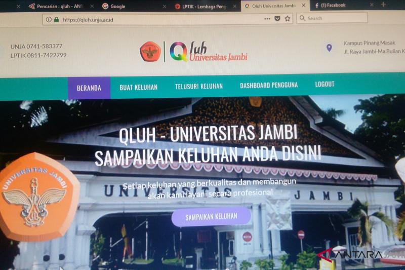 """Layanan """"QLUH"""" cara Universitas Jambi menampung keluhan"""